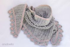 Helena crochet scarf $4.12