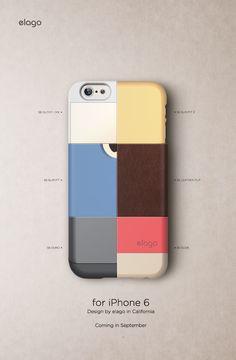 elago S6 CASE for iPhone 6 AD. © 2014 elago Design. All rights reserved. Designed by elago in California. elagodesign.com/