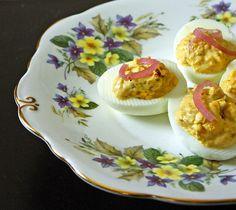 Bacon Dijon Deviled Eggs