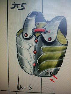 www.marconuccitellidesign.com  jacket #design #engineering #sketch #prototype