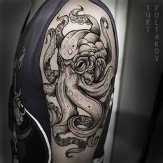 100 Marine Octopus Tattoos Meaning and Designs Check more at http://tattoo-journal.com/100-marine-octopus-tattoos/