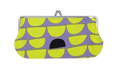 Kumpu rectangular coin purse by Marimekko