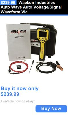 Battery Testers: Waekon Industries Auto Wave Auto Voltage/Signal Waveform Viewer 75000 New BUY IT NOW ONLY: $239.99