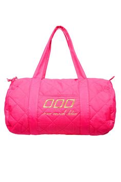 Move, Nourish, Believe: This bright pink Lorna Jane Pop Gym Bag ($70) is a great reminder of your daily to-dos.
