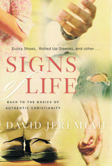 The book discusses signs of life – signs that Jesus has transformed us and that we are committed to him and his kingdom. Signs of Life will lead the reader on a journey to a fuller understanding of the marks that identify one as a Christian, that advertise your faith – the imprints that can impact souls for eternity and help one become a person of influence who radiates relevancy, authenticity, generosity and compassion every day, just like Jesus did.