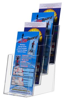 Frame Stand 4 X 6 Table Tent Tru Vu Ad Frame Brochure Tri Fold
