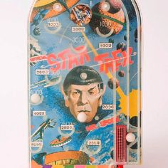Star Trek Pinball Game from AHI. All other game choices are illogical. Pocket Game, Pinball, Patience, Star Trek, Choices, Lunch Box, Gaming, Stars, Antiques