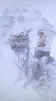 """""""Evil in the Storm"""" Star Wars artwork by William Silvers. For sale at artinsights.com."""
