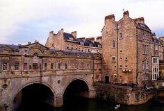 Palladian Pulteney Bridge,Bath,England