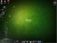 macpup linux desktop Mais More