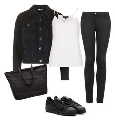 """""""Give a little"""" by emmarhyj on Polyvore featuring Topshop, adidas and The Row"""