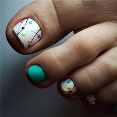 nail art designs for spring / nail art designs ; nail art designs for spring ; nail art designs for winter ; nail art designs with glitter ; nail art designs with rhinestones Nail Design Glitter, Nail Design Spring, Spring Nail Art, Spring Nails, Nails Design, Summer Pedicure Designs, Glitter Toe Nails, Acrylic Nails, Cute Summer Nail Designs