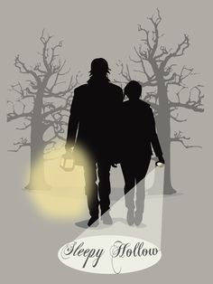 Sleepy Hollow tv show tee/sticker/print