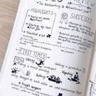 bullet journal year review - Google Search