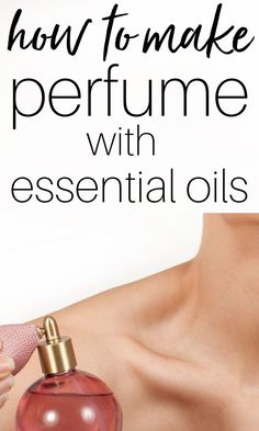 Learn how to make perfume with essential oils. No fancy ingredients needed - jus. - Learn how to make perfume with essential oils. No fancy ingredients needed – just essential oils - Perfume Diesel, Essential Oil Perfume, Essential Oil Uses, Perfume Fahrenheit, Perfume Invictus, Natural Beauty Recipes, Citrus Oil, Carrier Oils, Packaging