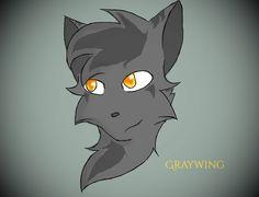 Warrior cats Graywing by silvershade21XD.deviantart.com on @DeviantArt