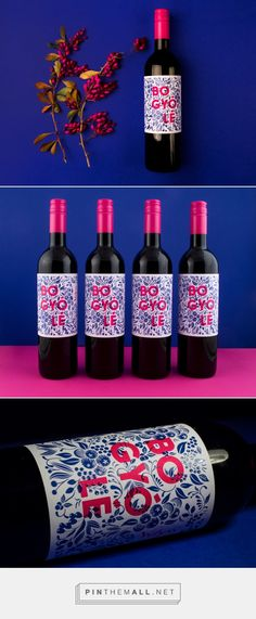 BOGYÓLÉ Wine Packaging by Mónika Rudics   Fivestar Branding Agency – Design and Branding Agency & Curated Inspiration Gallery #winepackaging #packaging #packagedesign #packagingdesign #designinspiration #design