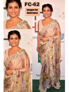 Multicolor Bollywood Replica Designer Saree
