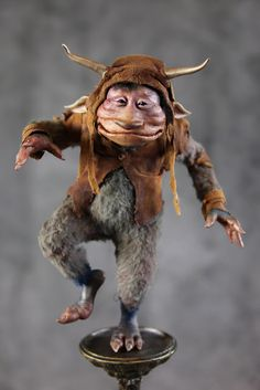 """""""There!"""" he said """"now I am Balancing!, not standing"""", he stuck his tongue out, blew with all his mite, and then smiled. There he is to this day planted on one leg Balancing and smiling at the world, for he found his place, and the thing he was best at which no one could take from him. -Toby Froud"""