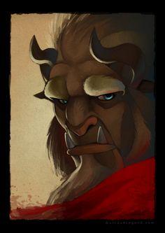 The Beast by =uniqueLegend on deviantART