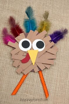 481 best thanksgiving crafts for kids images on pinterest in 2018