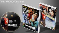 Ivanhoé - O Vingador Do Rei - DVD - ➨ Vitrine - Galeria De Capas - MundoNet | Capas & Labels Customizados