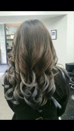 Hair color #curls