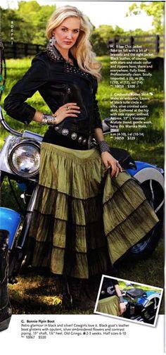 "Marrika Nakk Clothing - love it!. ""ROSA"" marrikanakk.com . Shabby chic, vintage, romantic lace skirt, clothing, shirt, dress, western, elegant, cowgirl, ranch"