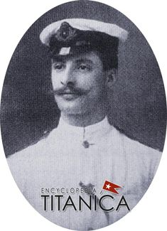 James Fraser was born 1882 in Aberdeen, Scotland. He signed on to the Titanic on 6 April 1912, and his previous ship had been the Adriatic. As junior assistant 3rd engineer he could expect monthly wages of £11, 10s. He died in the sinking and his body, if recovered, was never identified. His widow Florence never remarried and remained living in Southampton