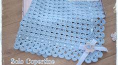 Copertina | Solo Copertine: schemi e spiegazioni Blanket, Crochet, Bed Covers, Crocheting, Ganchillo, Blankets, Cover, Comforters, Knits