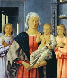 Piero della Francesca: Virgin of Senigallia, around 1474 - Galleria Nazionale delle Marche, Urbino - Italy