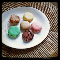 believe it or not, these were the first french macarons i ever tasted!  in a great little studio apartment on ile saint-louis overlooking the seine... ah, paris!