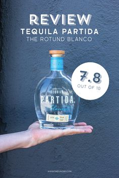 Review: Tequila Partida. Why this tequila may be perfect for your holiday Margaritas.