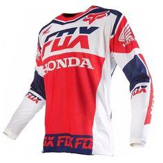 ONeal Hardwear Jersey Flow Jag Blau Rot MX Shirt Motorrad Trikot Moto Cross Quad
