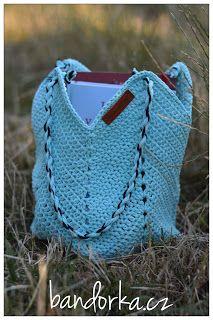 bandorka: Háčkovaná letní kabelka Straw Bag, Crochet Top, Bags, Women, Handbags, Bag, Totes, Hand Bags, Woman