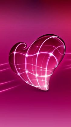 3d Pink Heart iPhone 5s Wallpaper Download | iPad Wallpapers & iPhone Wallpapers One-stop Download