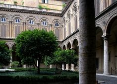 Rom, Via del Corso, Palazzo Doria-Pamphilj, Innenhof (courtyard) Mie
