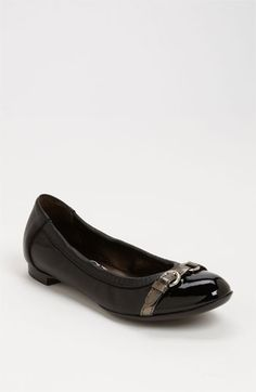 If you ever have to own one pair of flats, AGL's are the only way to go. I have 5 pairs and they are worth EVERY PENNY. $330Attilio Giusti Leombruni Ballerina Flat available at #Nordstrom