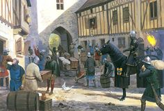 On 26 August 1356 a large reconnaissance force of Gascon troops, commanded by Jean de Grailly, the Captal de Buch, seized the fortified town of Vierzon - Poitiers 1356