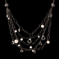 Multi-Strand Necklace by Pools of Light Jewelry at BestAmericanArts.com