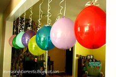 Fun idea for boys birthday