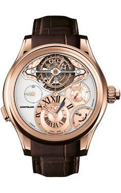Dieses und weitere Luxusprodukte finden Sie auf der Webseite von Lusea.de  Mont Blanc El recuento del SIHH-2013 | Watches World