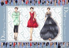 Realizzazione del Triennio di Fashion Design Fashion Design