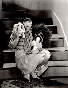 """Clara Bow - It    One of my favorite photos of the original """"It"""" girl - Clara Bow from one  of my favorite movies of hers - """"It"""". I love that movie so much!"""