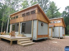 Cottage in a Day Prefab Tiny Cabins - Guest house in back yard!