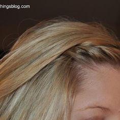 Stylish Bang Twist {Hairstyles}