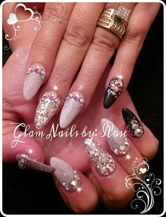 Done by Me : Glam Nails by: Rose/facebook