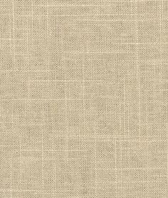 Covington Jefferson Linen Driftwood Fabric - $15.4 | onlinefabricstore.net 50/50 linen/visc.