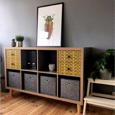 The IKEA Kallax line Storage furniture is an essential part of any home. Trendy and wonderfully easy the corner Kallax from Ikea , for example. Ikea Kallax Shelving, Ikea Kallax Regal, Ikea Kallax Hack, Ikea Hacks, Ikea Furniture Hacks, Office Furniture, Furniture Movers, Ikea Stockholm, Billy Ikea