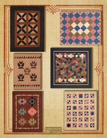 SWEATER WEATHER CHARM QUILT QUILTING PATTERN *NEW* from Heartspun Quilts